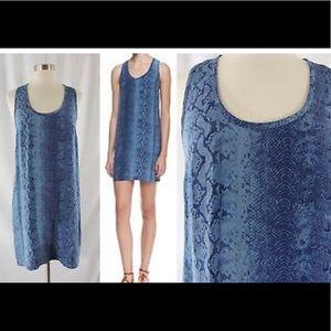 Silk, Joie tank dress